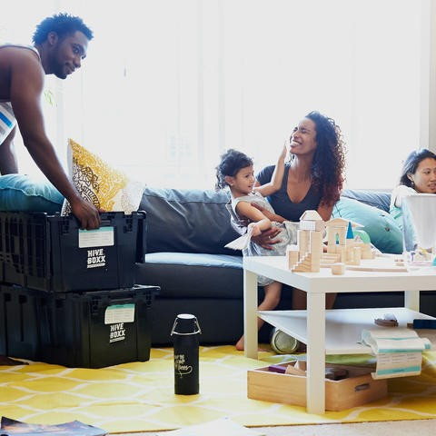 packing with family