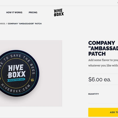 HiveBoxx Patch